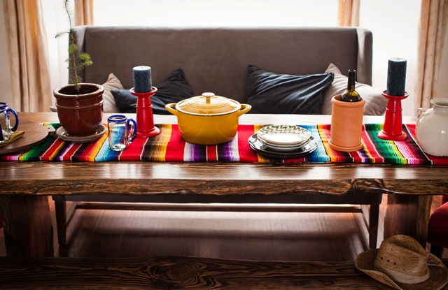 Serape Table Linen, Mexican Table Cloth, Cinco De Mayo Table Cloth