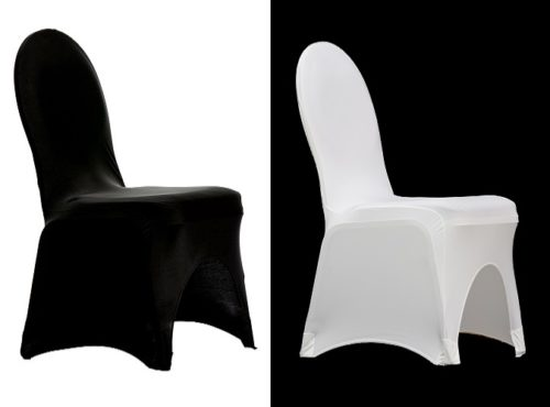 Spandex Chair Cover, Black Spandex Chair Cover, White Spandex Chair Cover