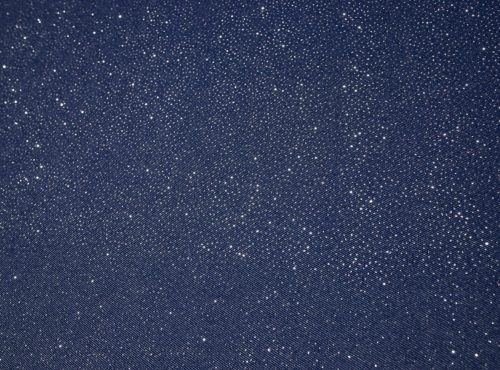 Starry Night Table Linen, Blue Sparkle Linen