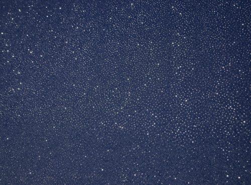 Starry Night Table Linen, Blue Sparkle Linen