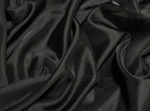Black Voile Table Linen, Sheer Black Table Cloth, Sheer Black Overlay