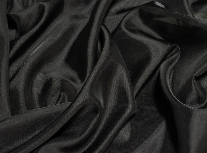 Black Voile Table Linen, Sheer Black Table Cloth, Sheer Black Overlay
