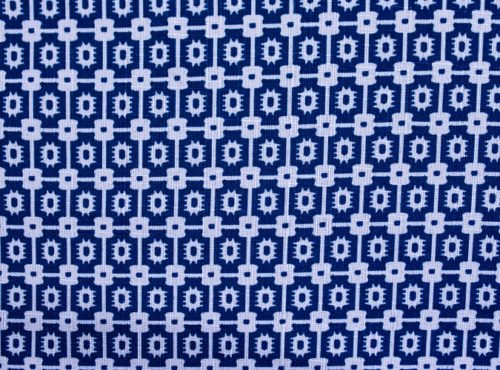 Indigo Santa Fe Napkin, Dark Blue Patterned Napkin, #theNAPKINmovement