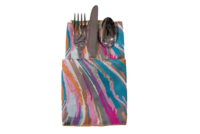 Mardi Gras Carnivale Napkin, Multi Color Swirl Napkin, #theNAPKINmovement