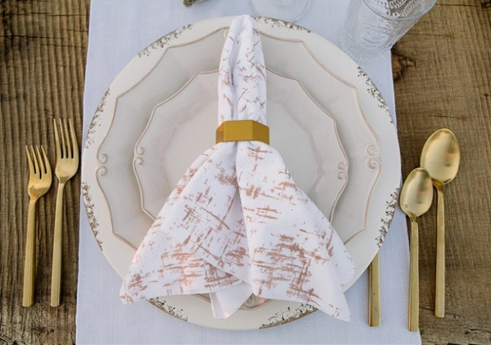 White Etched Velvet Napkin, White and Pink Velvet Napkin, #theNAPKINmovement