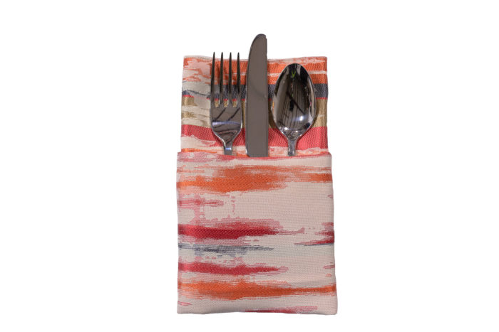 Coral Mirage Napkin, Pink & Red Napkin, #theNAPKINmovement