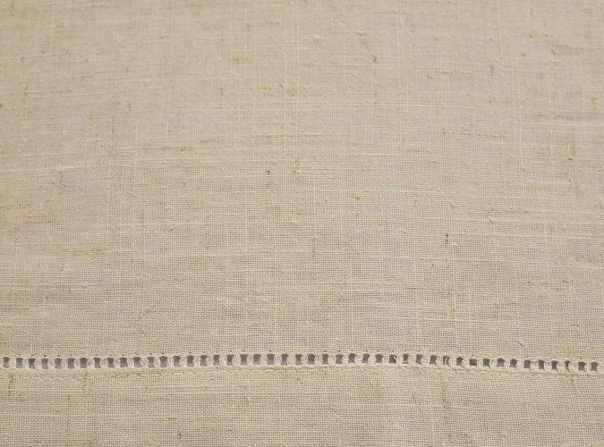 Oatmeal Hemstitch Napkin, Ivory Linen Napkin, #theNAPKINmovement