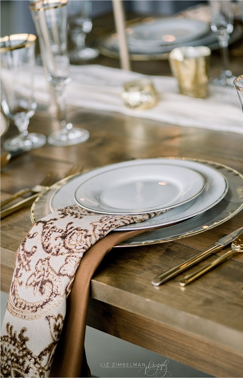 Chestnut Martinique Table Linen, Brown Gold Paisley Table Cloth