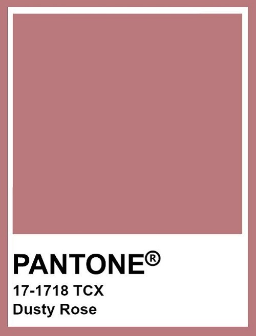 Pantone Dusty Rose